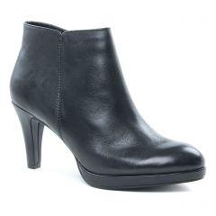 Chaussures femme hiver 2018 - low boots marco tozzi noir