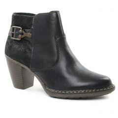 Rieker 55292-00 Schwarz : chaussures dans la même tendance femme (low-boots noir) et disponibles à la vente en ligne