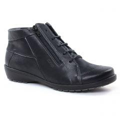 Chaussures femme hiver 2018 - bottines à lacets Suave noir