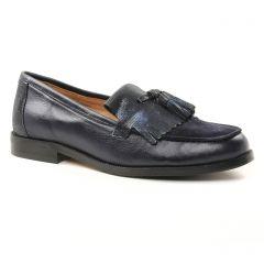 mocassins bleu marine: même style de chaussures en ligne pour femmes que les Jb Martin