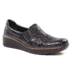 mocassins-slippers gris noir: même style de chaussures en ligne pour femmes que les Jb Martin