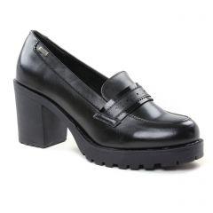 mocassins-talon-haut noir: même style de chaussures en ligne pour femmes que les Pintodiblu