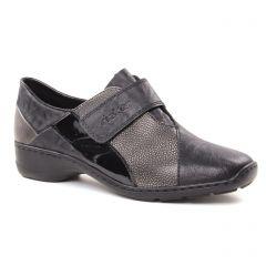 mocassins-trotteurs noir: même style de chaussures en ligne pour femmes que les Émilie Karston