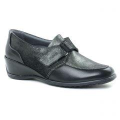 mocassins-trotteurs noir: même style de chaussures en ligne pour femmes que les Suave