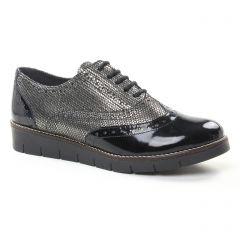 richelieus noir argent: même style de chaussures en ligne pour femmes que les Mamzelle