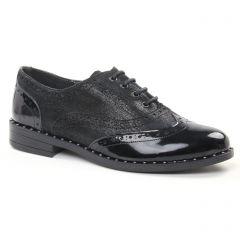 Chaussures femme hiver 2018 - richelieus Geo Reino noir gris