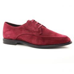 derbys rouge: même style de chaussures en ligne pour femmes que les Jb Martin