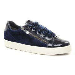 tennis bleu: même style de chaussures en ligne pour femmes que les Tamaris