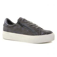 Marco Tozzi 23717 Grey : chaussures dans la même tendance femme (tennis gri argent) et disponibles à la vente en ligne