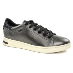 Chaussures femme hiver 2018 - tennis Geox gris argent