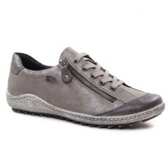 Chaussures femme hiver 2018 - tennis Remonte gris taupe