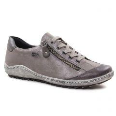 tennis gris taupe: même style de chaussures en ligne pour femmes que les Remonte