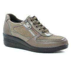 tennis marron taupe: même style de chaussures en ligne pour femmes que les Victoria