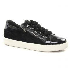 tennis noir: même style de chaussures en ligne pour femmes que les Marco Tozzi