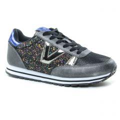 baskets-mode noir multi: même style de chaussures en ligne pour femmes que les Victoria