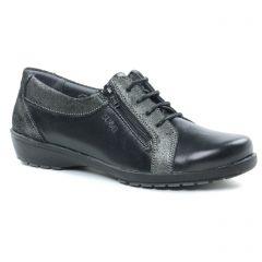 tennis noir: même style de chaussures en ligne pour femmes que les Suave