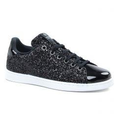 tennis noir: même style de chaussures en ligne pour femmes que les Victoria