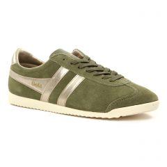 tennis vert kaki: même style de chaussures en ligne pour femmes que les Gola