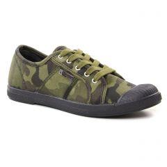 Les Tropéziennes Chaz Kaki Camouflage : chaussures dans la même tendance femme (tennis vert kaki) et disponibles à la vente en ligne