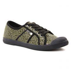 tennis vert leopard: même style de chaussures en ligne pour femmes que les Les Tropéziennes