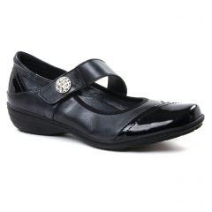 Chaussures femme hiver 2018 - trotteurs-babies Geo Reino noir