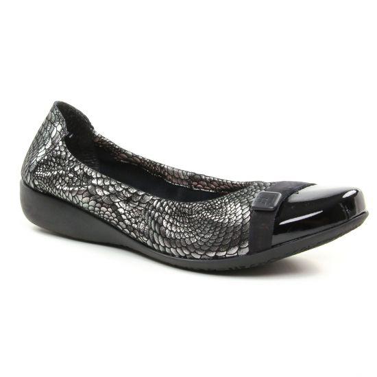 Ballerines Hirica 38904Pc Argent, vue principale de la chaussure femme
