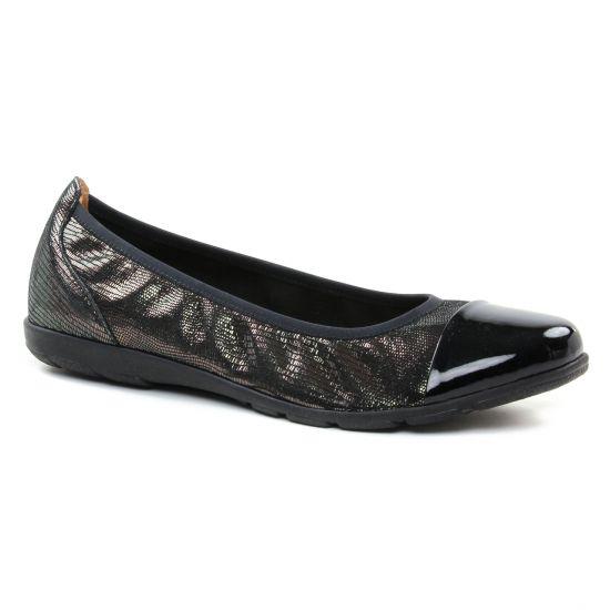 Ballerines Caprice 22102 Black, vue principale de la chaussure femme