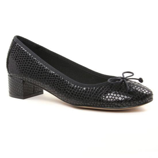 Ballerines Maria Jaen 7622N Negro Serraje, vue principale de la chaussure femme
