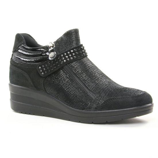 Tennis Et Baskets Mode Enval 2267300 Nero, vue principale de la chaussure femme