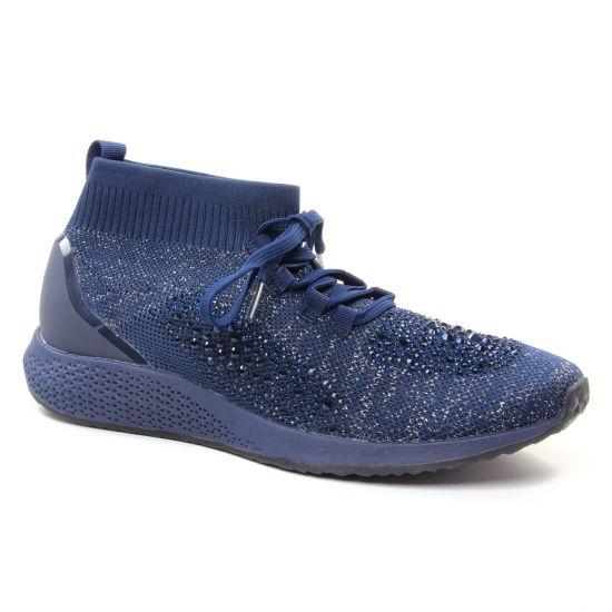 Tennis Et Baskets Mode Tamaris 25204 Navy, vue principale de la chaussure femme