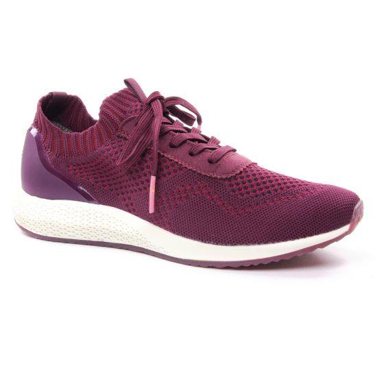 Tennis Et Baskets Mode Tamaris 23714 Bordeaux, vue principale de la chaussure femme