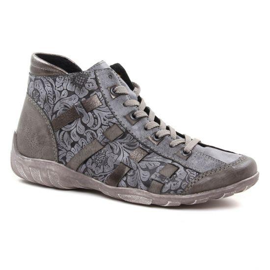 b56974d307 Tennis Et Baskets Mode Remonte R3486-45 Fumo, vue principale de la chaussure  femme