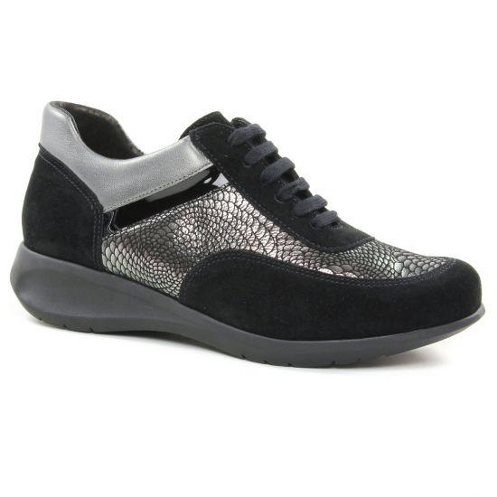 Tennis Et Baskets Mode Hirica 38V3A1 Noir, vue principale de la chaussure femme