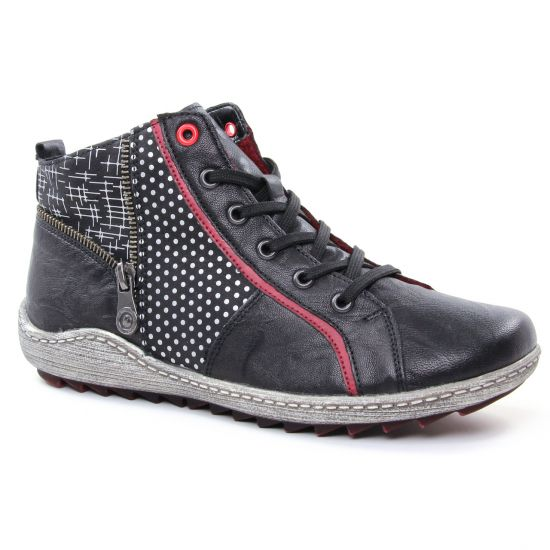 Tennis Et Baskets Mode Remonte R1494 Schwarz, vue principale de la chaussure femme