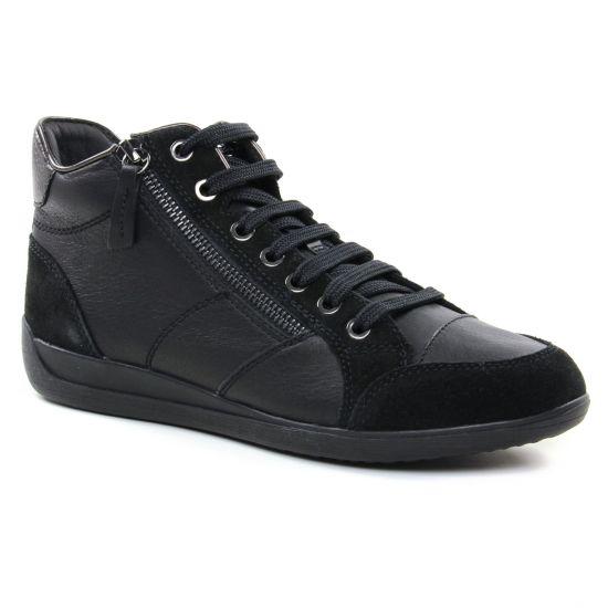 Tennis Et Baskets Mode Geox D6468C Black, vue principale de la chaussure femme