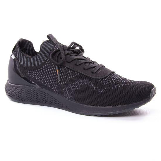 Tennis Et Baskets Mode Tamaris 23714 Black Grey, vue principale de la chaussure femme
