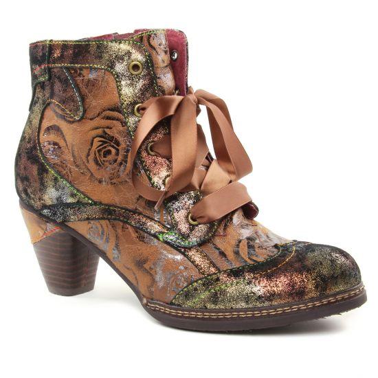 Bottines Et Boots Laura Vita Alizée 018 Camel, vue principale de la chaussure femme
