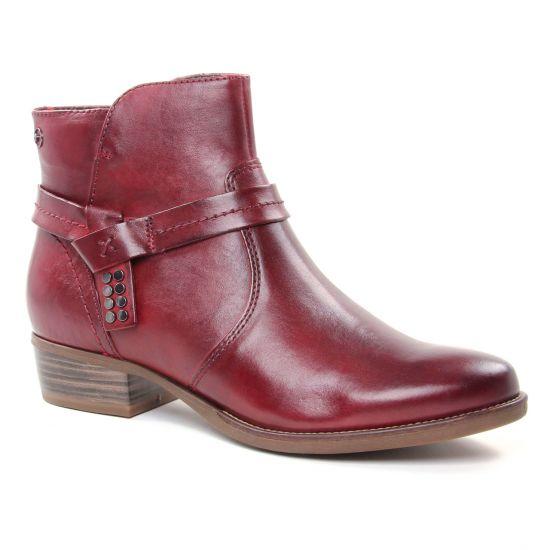 Bottines Et Boots Tamaris 25017 Sangria, vue principale de la chaussure femme