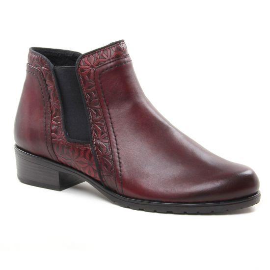Bottines Et Boots Remonte D6873 Chianti, vue principale de la chaussure femme