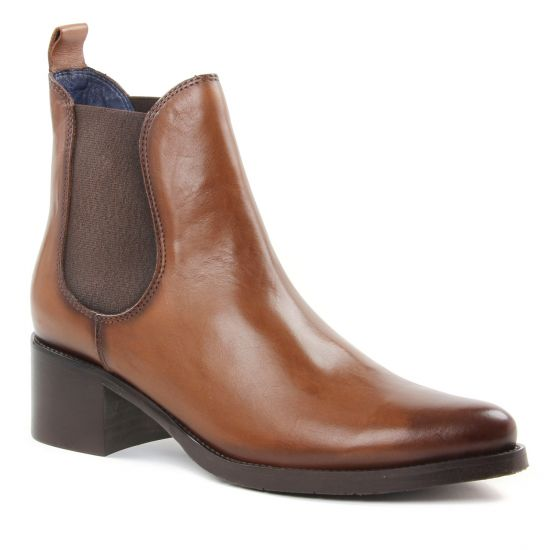 Bottines Et Boots Pintodiblu 79260 Camel, vue principale de la chaussure femme