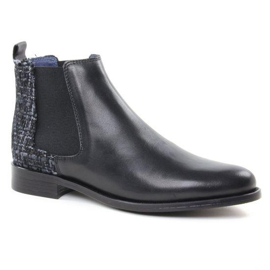 Bottines Et Boots Pintodiblu 80370N Noir   Tissu, vue principale de la chaussure femme