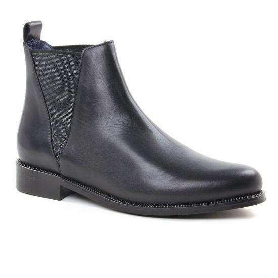 Bottines Et Boots Pintodiblu 80940 Noir, vue principale de la chaussure femme