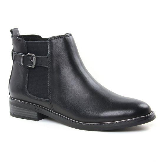Bottines Et Boots Marco Tozzi 25300 Black, vue principale de la chaussure femme
