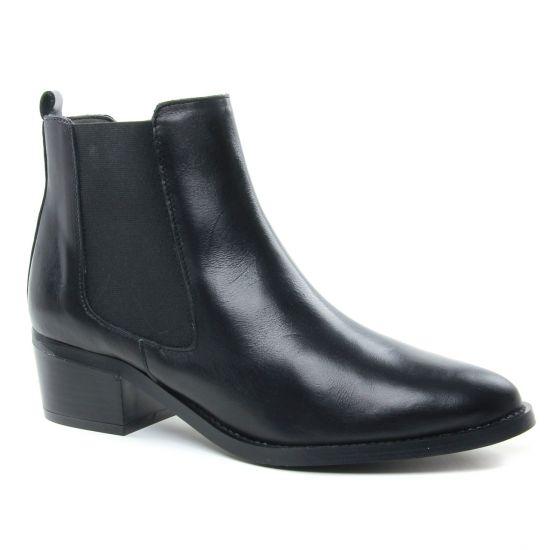 Bottines Et Boots Maria Jaen 7023 Lustre Negro, vue principale de la chaussure femme
