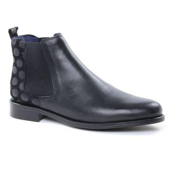 Bottines Et Boots Pintodiblu 80370 Noir, vue principale de la chaussure femme