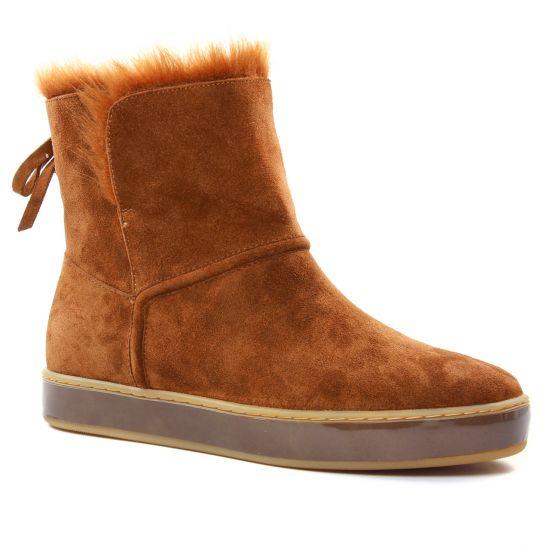 Bottines Et Boots Jb Martin Iwock Camel, vue principale de la chaussure femme