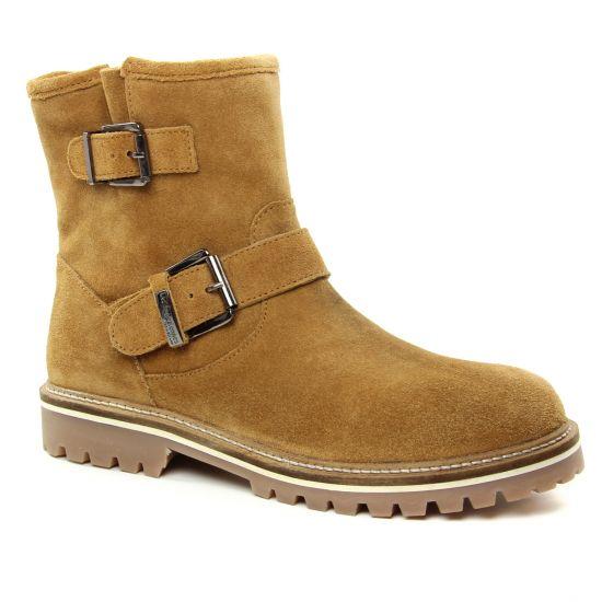 Bottines Et Boots Les Tropeziennes Léonie Cognac, vue principale de la chaussure femme
