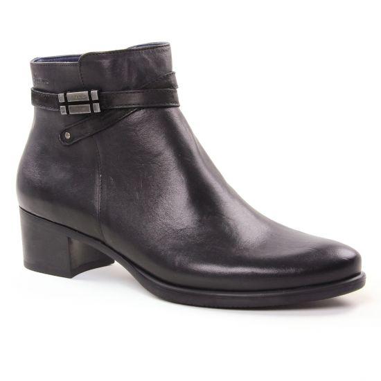 Bottines Et Boots Dorking D7637 Negro, vue principale de la chaussure femme