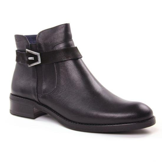 Bottines Et Boots Dorking Tierra D7685 Negro, vue principale de la chaussure femme