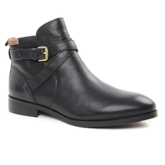 Bottines Et Boots Pikolinos W4D8614 Black, vue principale de la chaussure femme